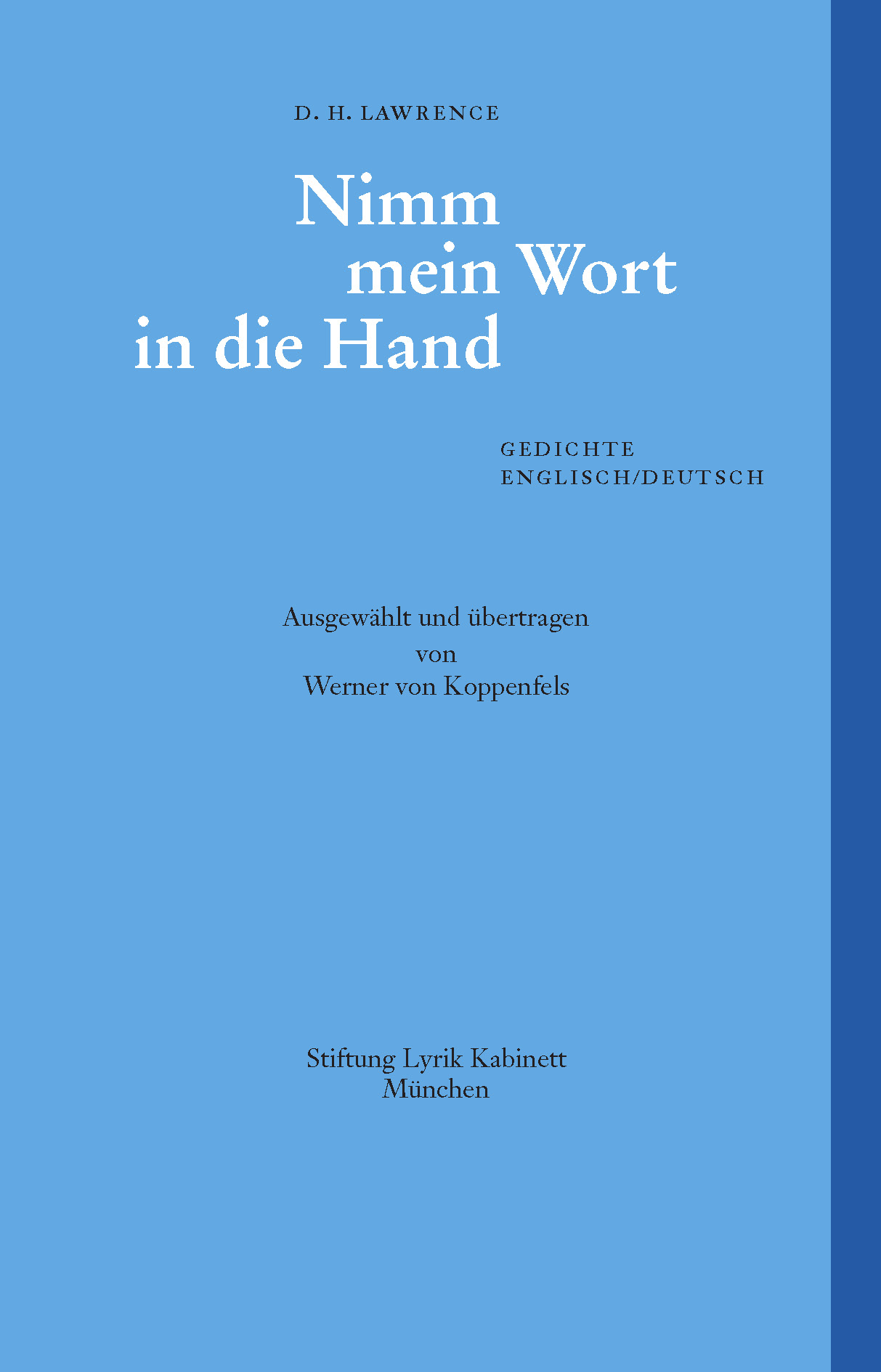 Buch_Lyrik_Kabinett_19_Lawrence